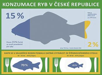 Konzumace ryb v ČR