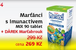 Walmark Marťánci s Imunactivem MIX 90 tablet + brouk