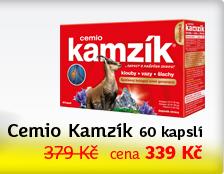 Cemio Kamzík 60 tablet