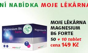 Moje lékárna Magnesium B6 Forte 50+10 tablet