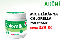 Moje lékárna Chlorella 750 tablet