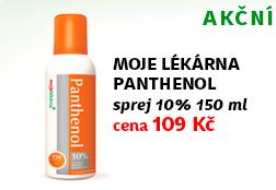 Moje Lékárna Panthenol sprej 10% 150 ml