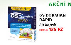 GS Dormian Rapid 20 kapslí