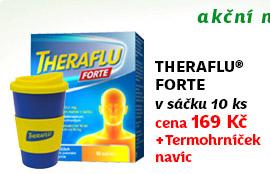 Theraflu Forte 1000/200/12.5mg prášek pro perorální roztok 10 sáčků + NAVÍC: Termohrníček