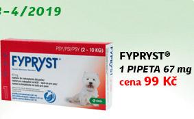 Fypryst Dogs 1x0.67ml spot-on pro psy