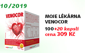 Moje lékárna Venocor 100+20 kapslí