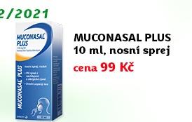 Muconasal Plus nosní sprej, roztok 10ml