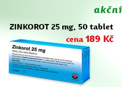 Zinkorot 25mg 50 tablet