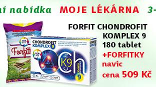 ForFit ChondroFit Komplex 9 180 tablet + NAVÍC: Forfitky bylinné bonbóny s lékořicí