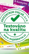 Výrobky Moje lékárna - Testováno na kvalitu