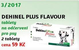 Dehinel Plus Flavour tablety na odčervení pro psy 1x2 tablety
