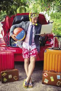 Jak si užít dovolenou a nenechat se stresovat?
