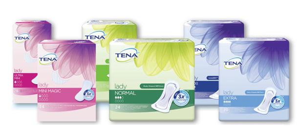 KOMPLEXNÍ PÉČE TENA – diskrétní a spolehlivé řešení inkontinence