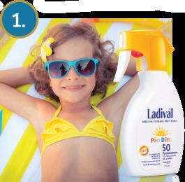 Ladival OF50 ochrana proti slunci sprej pro děti