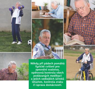 Pády jsou pro seniory životně nebezpečné. Jak se jim vyhnout?