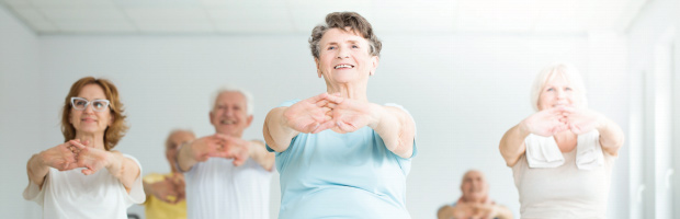 Jak cvičit pro zdravé klouby seniorů?