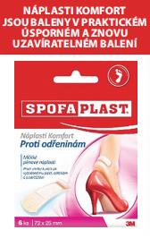 SPOFAPLAST®: Náplast Komfort proti odřeninám