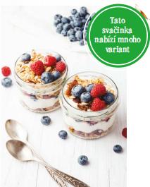 Řecký jogurt + čerstvé ovoce