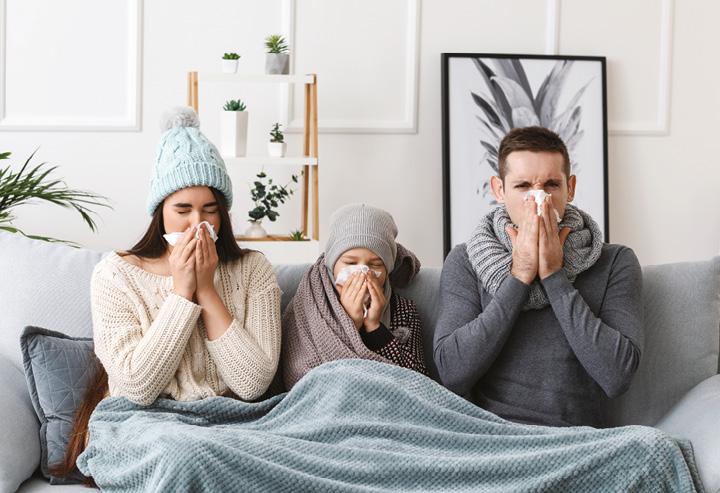 Co je to nachlazení a jak se projevuje