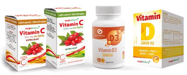 Vitamin D a C