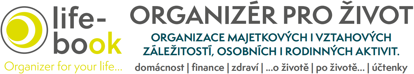 Life-book – organizér pro život