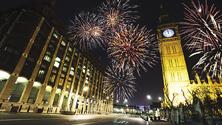 Silvestr v Londýně